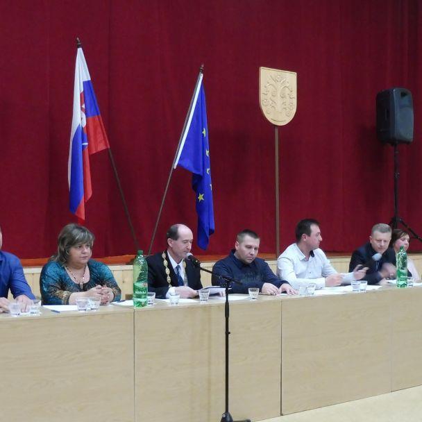 Ustanovujúce zasadnutie OcZ 2018 - 2022