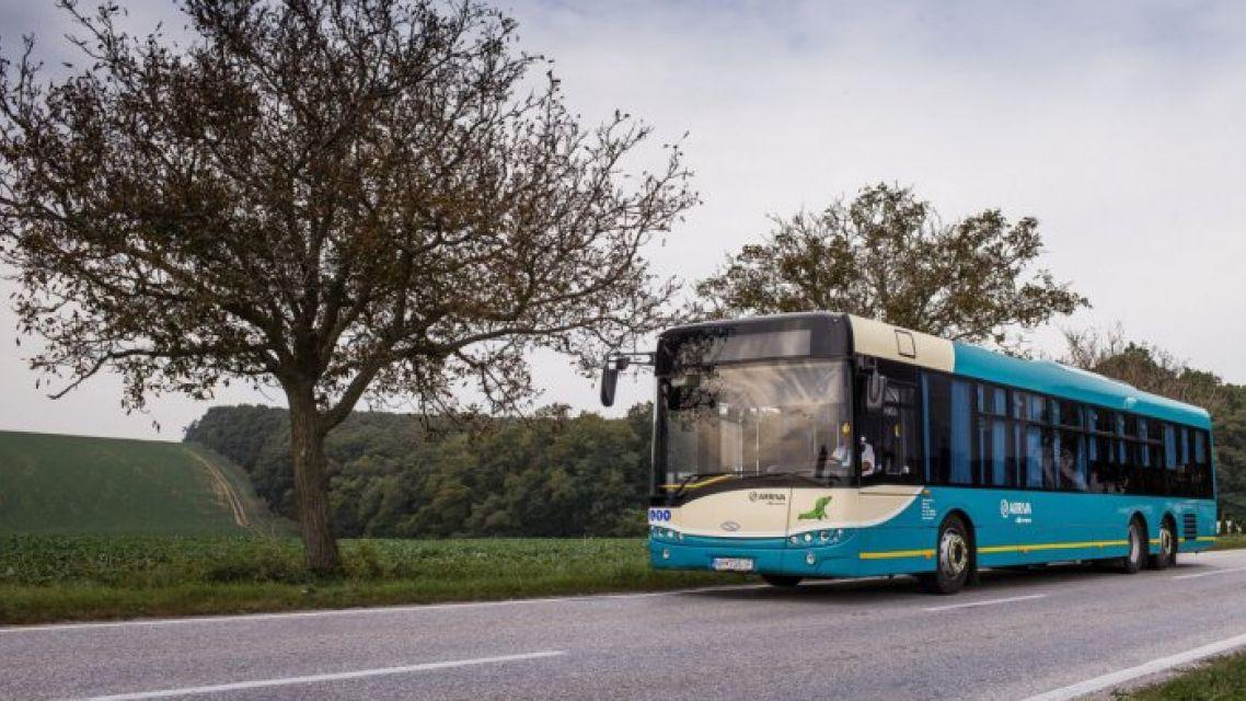 Oznam autobusovej dopravy Arriva Nitra a.s.
